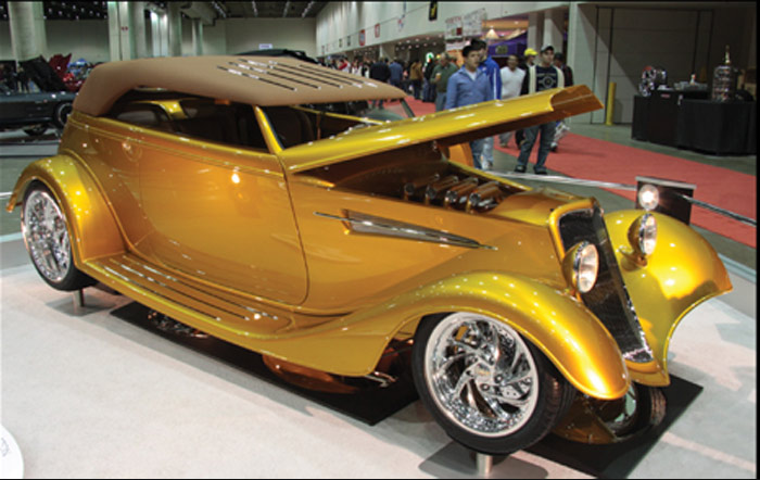 Bruce Titus Ford >> The Detroit AutoRama Ridler Award Winners